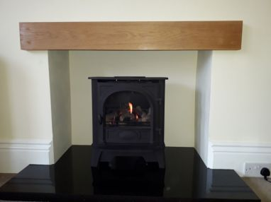 No chimney - no problem! Balanced Flue Gas Stove